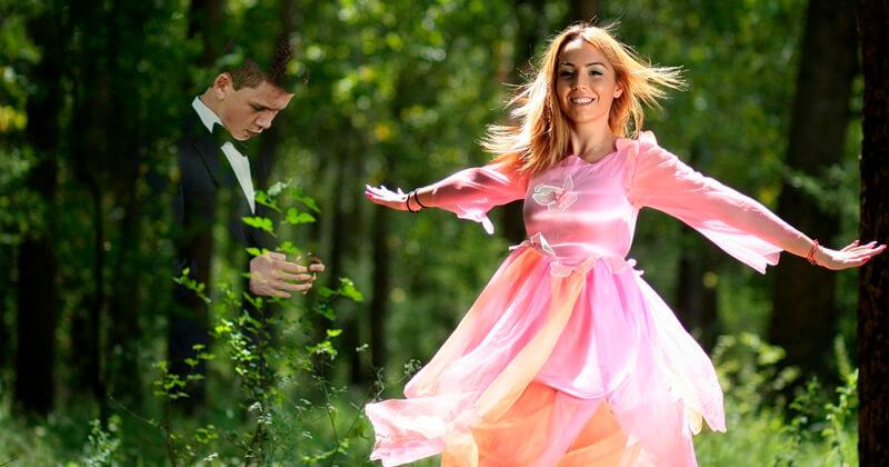 Сценарий для розовой свадьбы с конкурсами и поздравления 983