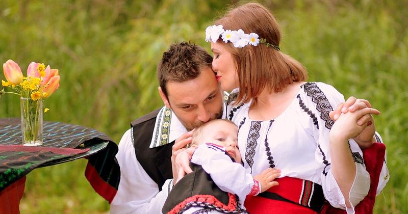 Семья - празднуем 11 лет со дня свадьбы