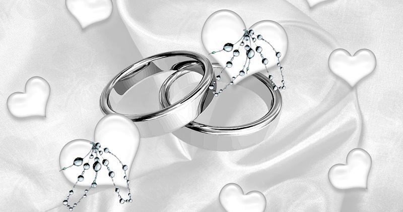 Серебряные кольца на 25 годовщину свадьбы