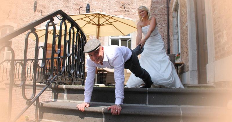 Забавные конкурсы для жениха и невесты