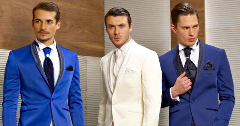 Свадебный костюм жениха - приметы при выборе цвета