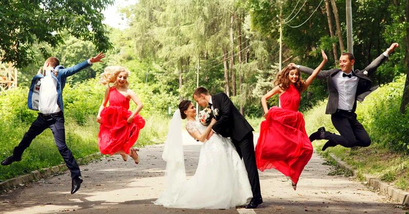 Сценическое поздравление на свадьбу